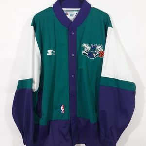 Vintage Starter Charlotte Hornets Jacket